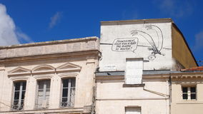Kreskówka w Angouleme, Zachodni Francja Obrazy Stock