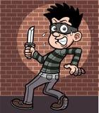 Kreskówka złodziej Zdjęcia Stock