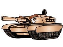 kreskówka zbiornik ilustracja wektor