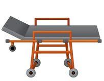 Kreskówki łóżko szpitalne - ilustracja dla dzieci Fotografia Stock