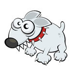 kreskówki śmieszny psi Zdjęcia Stock