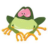 kreskówki żaba Fotografia Royalty Free
