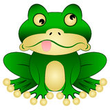 kreskówki żaba Obraz Stock