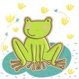 kreskówki żaba Zdjęcie Stock