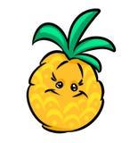 Kreskówki ananas Obraz Royalty Free