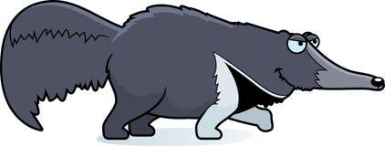 Kreskówki Anteater czajenie Zdjęcie Stock