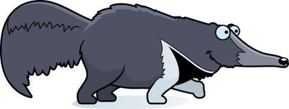 Kreskówki Anteater odprowadzenie Fotografia Royalty Free