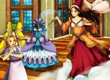 Kreskówki bajki scena dla różnych opowieści Zdjęcia Royalty Free