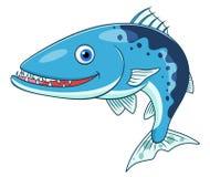 Kreskówki barracuda ilustracja wektor