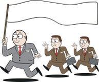 kreskówki biznesowy przywódctwo Fotografia Stock