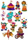 kreskówki cyrka ikona Fotografia Royalty Free