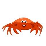 Kreskówki czerwieni krab Fotografia Stock