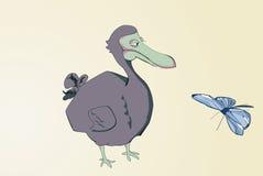 kreskówki dodo Zdjęcia Stock