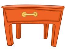 Kreskówki Domowy Meble Stół Zdjęcie Royalty Free