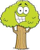 Kreskówki drzewo ilustracja wektor