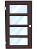 kreskówki drzwi dom ilustracja wektor