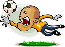 kreskówki gracza piłka nożna Obraz Stock