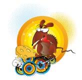 kreskówki ilustracyjny szczura wektor ilustracji