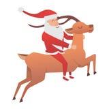 Kreskówki jeleni wektorowy zwierzę ilustracji
