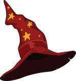 kreskówki kapeluszu czarownik Obrazy Stock