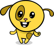 Kreskówki kawaii szczeniaka ilustracja Zdjęcia Stock
