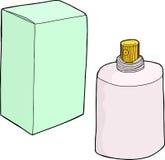 Kreskówki kiści butelka Obraz Royalty Free