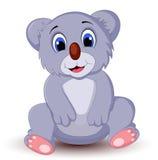 Kreskówki koali obsiadanie Fotografia Stock