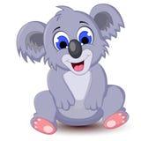 Kreskówki koali obsiadanie dla ciebie projektuje Obrazy Royalty Free
