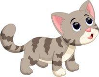 kreskówki kota śliczny ilustraci wektor Obraz Stock