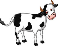 Kreskówki krowa dla ciebie projektuje Obraz Royalty Free