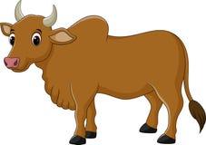 Kreskówki krowy charakter Zdjęcie Stock
