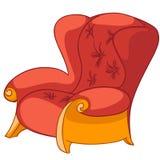 kreskówki krzesła meble dom ilustracja wektor