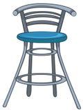 kreskówki krzesła meble dom ilustracji