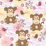 Kreskówki małpa Zdjęcia Stock