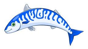 Kreskówki makrela royalty ilustracja