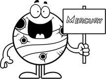 Kreskówki Mercury znak royalty ilustracja