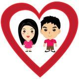 Kreskówki miłość Zdjęcie Stock