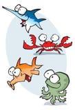 kreskówki morskie Obraz Royalty Free