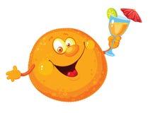 kreskówki pomarańcze Fotografia Stock
