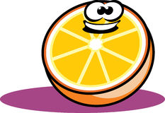 kreskówki pomarańcze Zdjęcia Stock
