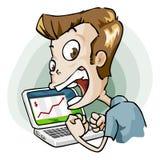 kreskówki pracownika dobre serie Fotografia Stock