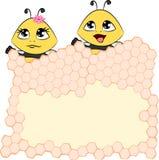 Kreskówki pszczoła ilustracja wektor