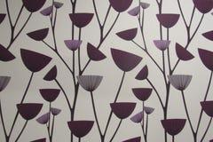 Kreskówki purpura Kwitnie tło Fotografia Stock