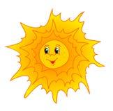 kreskówki słońce Zdjęcia Royalty Free