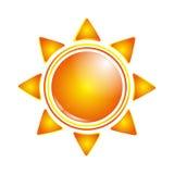 kreskówki słońce Zdjęcie Stock