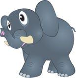 kreskówki słonia śmieszny ilustracyjny hindus Fotografia Stock