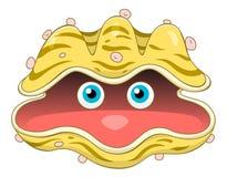 Kreskówki Seashell royalty ilustracja