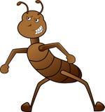 Kreskówki stylowa gniewna mrówka Obrazy Stock