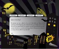 kreskówki szablonu sieć Fotografia Stock