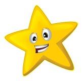 Kreskówki szczęśliwa gwiazda - royalty ilustracja